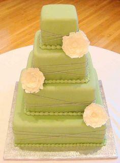 Sweet Sage and Yellow Wedding Sage Wedding, Yellow Wedding, Wedding Details, Style Me, Weddings, Cake, Sweet, Desserts, Food