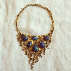 Pal Kepenyes brutalist necklace