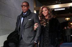 Bey n Jay At The Inauguration Of Barack Obama
