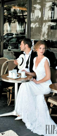 Alain and I enjoyed a cafe Francais while we waited for our horse drawn carriage to Hotel St. germain.....