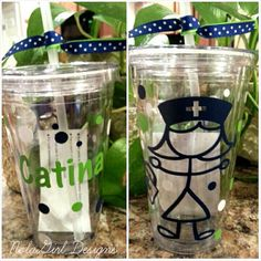 Check out this item in my Etsy shop https://www.etsy.com/listing/178254829/nurses-vinyl-tumbler-personalized-nurse
