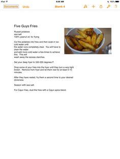 Five Guy Fries