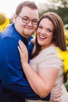 {Curvy Engagement} Texas Sunflower Fun | Lemons and Tea Photography