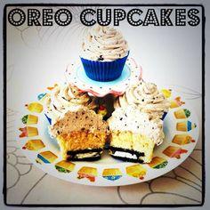 Chip cupcakes | Cup Cakes - CupCake Wife | Pinterest | Oreo, Cupcake ...
