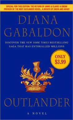 The Outlander Series - Outlander (1991) Dragonfly in Amber (1992) Voyager (1994) Drums of Autumn (1997) The Fiery Cross (2001) A Breath of Snow and Ashes (2005) An Echo in the Bone (2009) Written in My Own Heart's Blood (forthcoming)