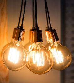 Cluster Lights, Home Lighting, Lightning, Light Bulb, Gadgets, Ceiling Lights, Interior Design, Sandbox, Home Decor