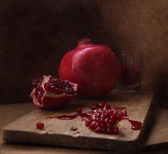 #still #life #photography • photo: * | photographer: inga mamon | WWW.PHOTODOM.COM Red Color, Colour, Still Life Photos, Still Life Photography, Food Pictures, Pomegranate, Masters, Fresh, Flower