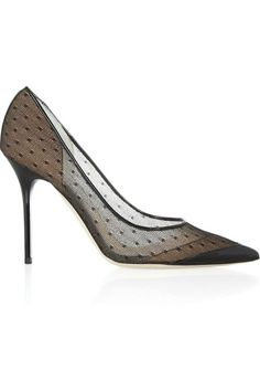 Jimmy Choo|Barb lace pointed-toe pumps