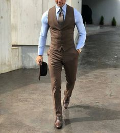 Beautiful brown suit for men
