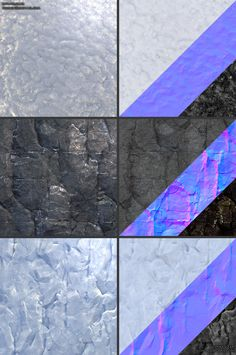 3d Texture, Tiles Texture, Material Research, Game Textures, 3d Tutorial, Alpha Patterns, Elements Of Design, Color Shapes, Stone Art