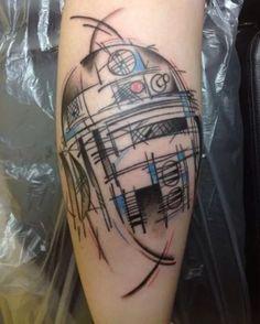 R2D2 tattoo idea