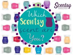 Find out the perfect scent to match your personality!  from your Independent Scentsy Consultant