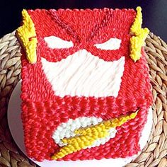 JK Denim of the YouTube channel Koalipops decorates a cake that the fastest man alive would be proud to eat. Download Flash stencils here.