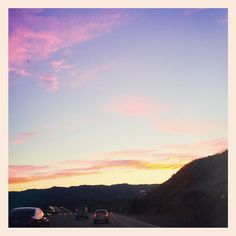 I'm always in awe of beautiful sunsets.. I can't lie though... I took this picture like 4 days ago. I just wanted to share it.  Haha Today it was freezing in Santa Clarita! What was the weather like where you live today? by nikkiphillippi