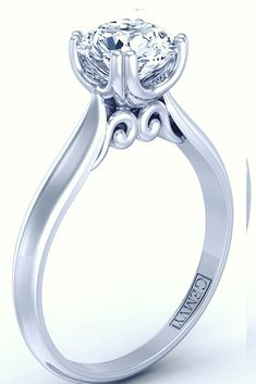 14k white gold uniqu