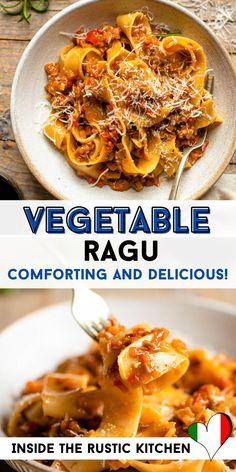 Italian Risotto Recipe, Risotto Recipes, Italian Pasta Recipes Authentic, Italian Dinner Recipes, Italian Stew, Pappardelle Pasta, Mondays, Rustic Kitchen, Recipe Box