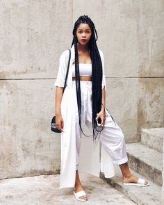 trendy Ideas for party outfit pants teen fashion street styles Street Look, Black Girl Fashion, Teen Fashion, Long Braids, Fashion Moda, Trends, Mode Style, Date Outfits, White Girls