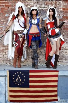assassin's creed outfits | Incredible Assassin's Creed 3 Cosplay By The Lovely Jessica Nigri