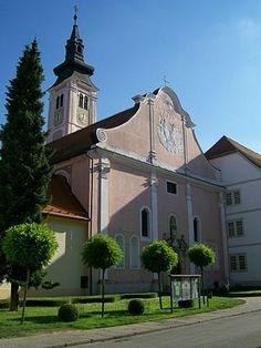 Varazdin Cathedral.