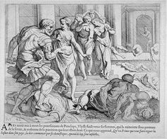 Odysseus summons the maids  17th century etching  Theodor van Thulden (1606 - 1669)  Fine Arts Museums of San Francisco Homer Odyssey, Greek And Roman Mythology, Greek History, Dead Man, Museum Of Fine Arts, 17th Century, Maid, Art Reference, Tapestry