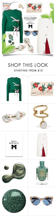 """My Mood Today"" by lidia-solymosi ❤ liked on Polyvore featuring MSGM, Topshop, Kat Maconie, Cornelia Webb, SS Print Shop, Illamasqua, Zoya and Dolce&Gabbana"