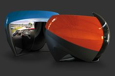 Motion Simulation TL1 Simulator (from £11,500.00). sleek, futuristic simulator that money can buy. we just love its pod-like look.