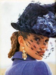 fabulous veiled hat