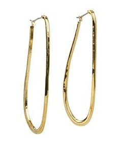 Vince Camuto Basic Ears Thin Elongated Hoop #accessories  #jewelry  #earrings  https://www.heeyy.com/suggests/vince-camuto-basic-ears-thin-elongated-hoop-gold/