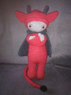 Devil mod made by Christiane G. / based on a lalylala crochet pattern
