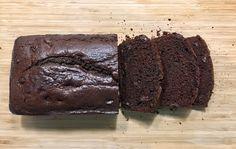 chocolate bread loaf sliced