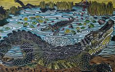 Gator Love by Leslie Peebles