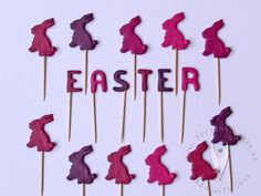 """Easter"" Pins für den Sweet Table von www.at Cupcakes, Den, Muffins, Sweet, Easter, Candy, Muffin, Cup Cakes, Cupcake"