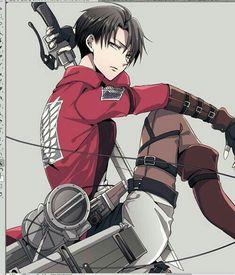Levi Ackerman _Shingeki no Kyojin Ereri, Levi X Eren, Armin, Mikasa, Levi Ackerman, Shippuden Sasuke Uchiha, Manga Anime, Accel World, Rivamika