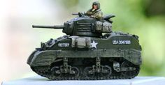 World War II U.S. Armored Divisions DD023 Stuart Tank set - Made by King and Country Military Miniatures and Models. Factory made, hand assembled, painted and boxed in a padded decorative box. Excellent gift for the enthusiast.