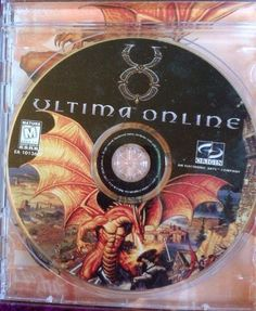 Origin Ultima Online Disc Jewel Case Graphics Paper Insert 1997 Acceptable Cond 014633101362 | eBay