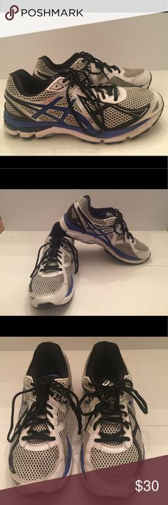 Men's Asics Dynamic Duomax FluidRide sneakers These have only been worn a few times, they are in excellent condition.  The upper is leather and mesh.  Any questions please ask me.  OPEN TO SENSIBLE OFFERS.  All proceeds from all my sales go to a dog rescue Asics Shoes Sneakers