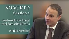 Real-world vs clinical trial data with NOACs