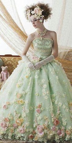 Enchanting gown