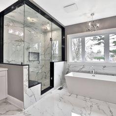 Home Room Design, Dream Home Design, Home Interior Design, Modern House Design, Interior Styling, Dream House Interior, Luxury Homes Dream Houses, Modern Mansion Interior, Dream Bathrooms