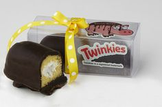 Bacon Chocolate Covered Twinkie - Twinkies & Bacon Dipped in Dark Chocolate