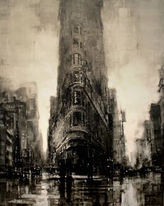 Jeremy Mann Painting Techniques | Urban Oil Painting by Jeremy Mann