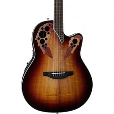 Black Online Discount Acoustic Electric Guitars Ovation Ce44-5 Acoustic-electric Guitar Guitars & Basses