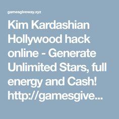 Kim Kardashian Hollywood hack online - Generate Unlimited Stars, full energy and Cash!  http://gamesgiveway.xyz/cheats/kimkardashianmod/
