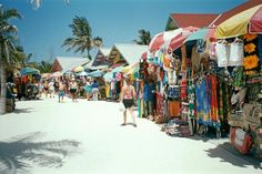 The Straw Market at Nassau Bahamas, Hear the ocean in the conch shells :)