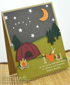 Image result for stampin up camping boys birthday cards