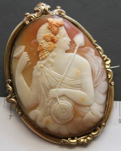 Bacchanate cameo, English, 19th century
