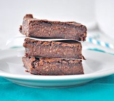 Fudgy Flourless Brownies - My Whole Food Life (uses zucchini). Love these & so does my picky husband!