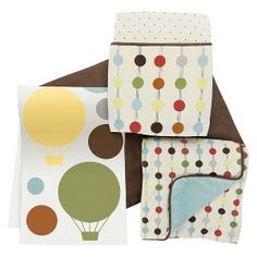 Skip Hop 4pc Crib Bedding Set with Complete Sheet - Mod Dot