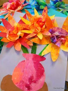 Tutorial: coffee filter flowers #recycle #reuse #repurpose #diy #crafts