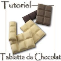 Chocolate tutorial from Cristalline. In french however the pictures are self explanatory.  Google translate works well but I can't pin the pictures from it.